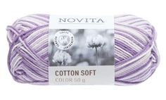 Novita Cotton Soft Color Syreeni - Neulominen - Tokmanni