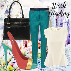 How to mix bold prints & bright colours for work  http://www.venusbuzz.com/archives/41741/fashion-friday-mixing-bold-prints-bright-colours/