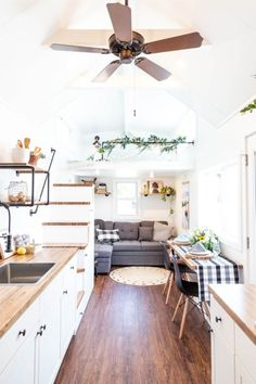 24 Rumspringa Tiny House on Wheels by Liberation Tiny Homes Tiny House Ideas Homes House Liberation Rumspringa Tiny Wheels Small Room Design, Tiny House Design, Tiny House Layout, Tiny House Living, Small Living, Tiny House Kitchens, House And Home, Tiny House 3 Bedroom, Tiny Bedroom Storage