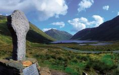 Irish Ancestors burial view..