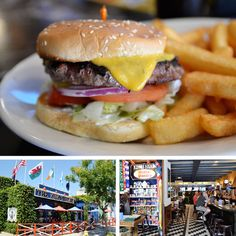 Ye Olde King's Head Burger.
