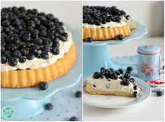 Mascarpone-Quark Torte mit frischen Heidelbeeren und ein kleiner Kinderzimmer-Einblick! | SASIBELLA