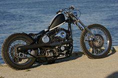 ϟ Hell Kustom ϟ: Harley Davidson Sportster By Brawny Built Harley Davidson Sportster, Hd Sportster, Davidson Bike, Kustom, Custom Motorcycles, Evo, Belle Photo, Cool Pictures, The Past