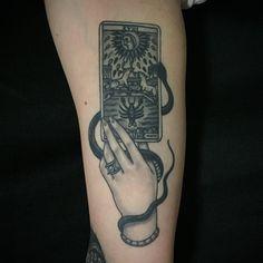Cool tattoo by Javier Betancourt.