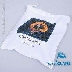 MacInnes Tartan Flip Flops and Matching Bag. Free Worldwide Shipping Available