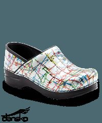 Dansko Professional Drizzle Patent Leather Women's Nursing Clog