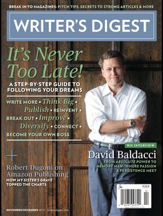 """Instruction and advice on all phases of writing.  Lucky me -- I can read Writer's Digest online through the library, but even if I couldn't, I would subscribe to this """"must have"""" for writers!"""