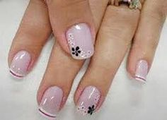 Pin by Kazys Lukošius on woman manicure Fingernail Designs, Toe Nail Designs, Elegant Nails, Stylish Nails, French Nails, Toe Nails, Pink Nails, Nagel Hacks, Nail Decorations