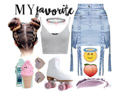 """""""My favorite......"""" by gomezel on Polyvore featuring Topshop, NARS Cosmetics, Wildfox, Accessorize and Kate Spade"""