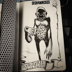 fobias ilustraciones Shawn Coss 18