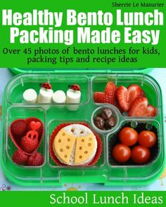 'Healthy Bento Lunch Packing Made Easy', is the second book in the School Lunch Ideas series and takes off where 'Yum! Healthy Bento Box Lunches  ...
