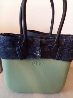 Bordo o bag mini jeans