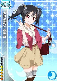 nico yazawa card - Google Search