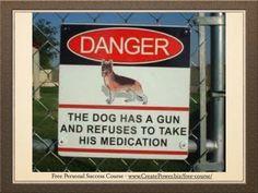 One for the weekend: De hond heeft een geweer en weigert zijn medicatie in te nemen?! #vertaalblunder