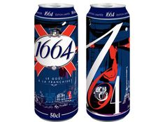 The French know beer - Cool to see this in 16oz cans!