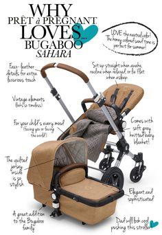 Why Prêt à Pregnant loves... Bugaboo Sahara - Pret a Pregnant