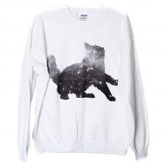 Galaxy Cat Sweatshirt-- NEED IT