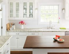 Image Result For Wilsonart Bianco Romano Laminate Countertops With Antique White Cabinets