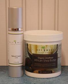 Key West Retinol Cream and Shea Butter - Review #beauty http://www.weidknecht.com/2014/09/key-west-retinol-cream-and-shea-butter.html