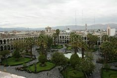 Plaza de Armas, Arequipa! View on top of the Cathedal!!