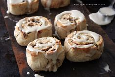 Almond flour biscuit cinnamon rolls! Grain and dairy free. YES please!