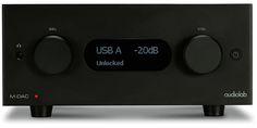 Audiolab M-DAC+ ALU-BLACK PRZETWORNIK C/A #audiolab #dac #mdac @ www.salonydenon.pl