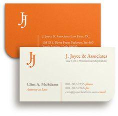 J. Joyce Business Cards