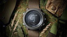 Suunto Traverse Alpha -- The GPS/Glonass-enabled Traverse Alpha is a rugged field watch designed for hunting, fishing & hiking. With unique functions like a moon phase calendar, shot detection, sunrise alert, weather trend, and red backlight for nighttime use, it helps you plan your routes & stay on course. Through Movescount.com, you can also keep a detailed diary of all your trips. $569