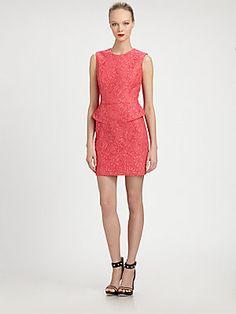 Jason Wu Peplum Dress