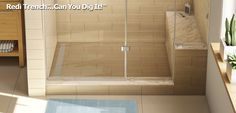 Linear Trench Drain-Channel Drain Bathroom Shower Designs-Linear Shower Drain Pans for Upscale Shower Design