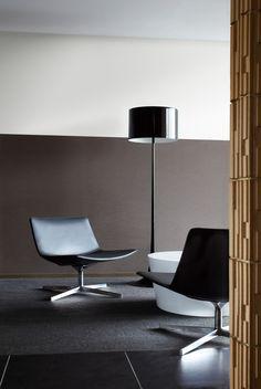 ADAL・ADAL ATIC #interior #chair #loungechair #lighting #black #modern #inspiration #ideas #cool