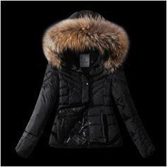 ensemble doudoune femme moncler veste fourrure noir a vendre