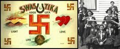 """Before the 20th century, the swastika was an ancient Indian symbol that meant """"to be good.'' It was used by many cultures throughout history, even a US army regiment had a swastika patch on their uniforms during World War 1. Some sports teams even used it as a symbol. Then the Nazi adopted the symbol, so of course everybody else stopped wearing them"""
