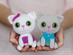Free Amigurumi Cat : Colorful kitty cat free amigurumi pattern pdf file click