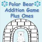 FREE! A fun game with a polar bear and igloo theme your students will love  to help them learn and practice their addition plus one facts.  The students ...