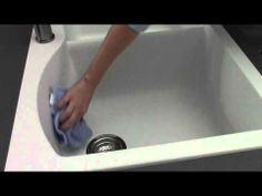 """How-to Video: Clean your BLANCO SILGRANIT Sink = Granite Composite """"Biscotti""""  (2014 Remodel)"""