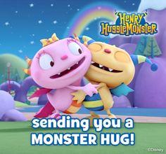 Monster hugs!