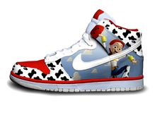 jessie dunks..... I would find an outfit for these. done!