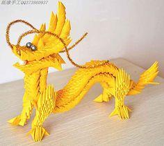 origami dragon head instructions