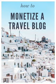 This is a great blog post that teaches you how to make money with affiliate products specifically for a travel blog!