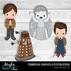 http://www.mujka.ca Dr who graphics, dalek, weeping angel. The 10th doctor, the 11th doctor graphics