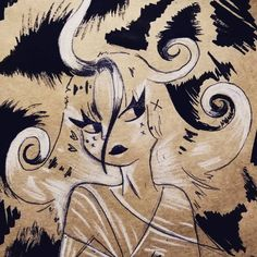 #illustration #ink #oldpaper #ilustracion #sketch #draw #characterdesign #portrait #support Old Paper, Character Design, Sketch, Draw, Memories, In This Moment, Ink, Portrait, Creative