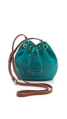 Marc by Marc Jacobs Too Hot To Handle Mini Drawstring Bag/it is tiny and has really soft leather.