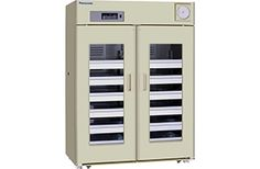The Panasonic MBR-1405GR blood bank refrigerator is designed to conform to AABB criteria stable and reliable temperature control utilizing Panasonic original technology. A special highly efficient compressor designed and developed by Panasonic provides rapid cooling and quiet performance for each model. Ideally suited for whole blood storage with stable and reliable temperature control for various inventory loads.