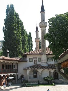 Khan's Palace Hansaray Mosque Bakhchisaray, Crimea