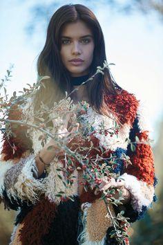 Sara Sampaio для рекламной кампании Tularosa — осень/зима 2016.