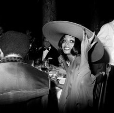 Diana Ross au Festival de Cannes, 1970.