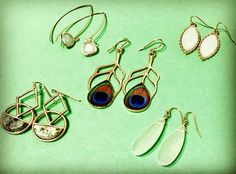 Fresh touch to your spring look #accessories #earrings #ambianceSF #herstyle #springstyle