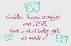 Cuddles and Kisses Snuggles and Love