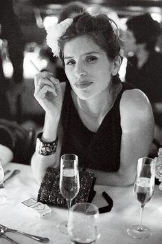 Maïwenn.Chanel Little Black Dress Exhibit Opening Party at Balthazar via Vanity Fair - NYC